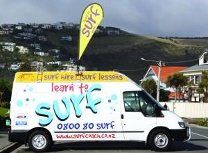 Learn to Surf van