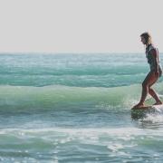 Britt Surfing